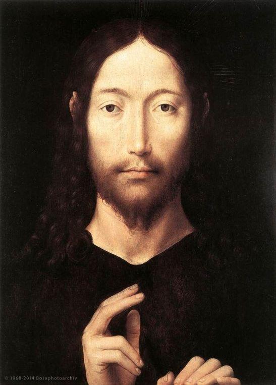 Hans Memling, Cristo benedicente, 1478