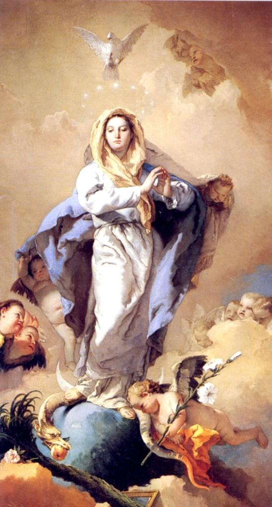 Immacolata Concezione - Giambattista Tiepolo, 1767- 69 (Museo del Prado di Madrid)