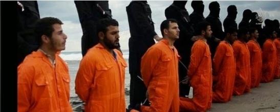 ISIS Libia-tripoli - martiri copti