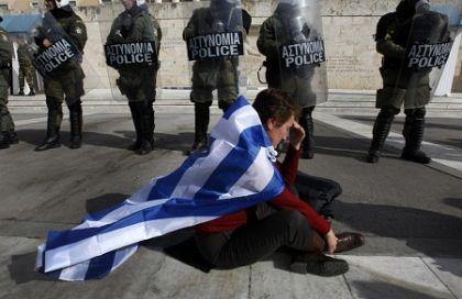 L'umiliazione della Grecia.