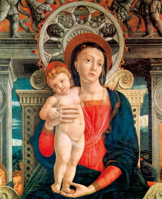 """La """"Pala di San Zeno"""" del Mantegna"""
