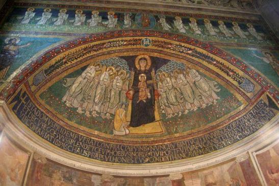 La Madonna nell'arte (3) Santa Maria in Domnica alla Navicella