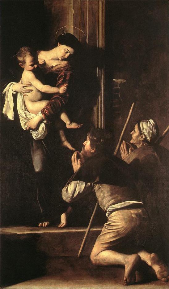 La Madonna nella pittura (2) La Madonna dei Pellegrini.