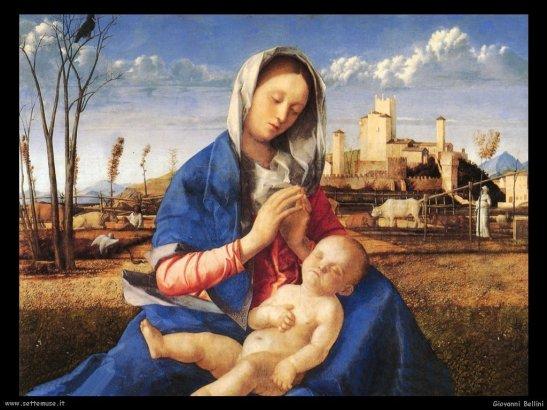 La Madonna nella pittura - La Vergine e il Bambino, giovanni_bellini