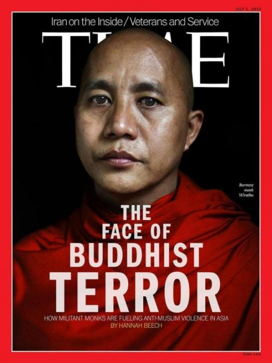 Myanmar - violence against Muslims by fundamentalism Buddhist.
