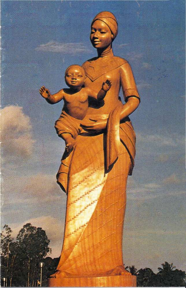 Notre-Dame d'Afrique, Abidjan, Côte d'Ivoire