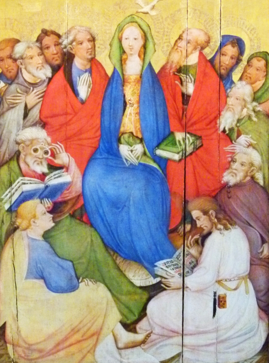 Pfingsten-Wildunger-Altar-Konrad-von-Soest2