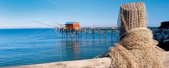 Trabocco, costa della provincia di Chieti