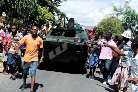 Burundi, Révolte