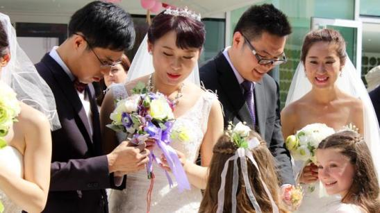 Expo 2015 - Matrimonio all'Expo, dalla Cina per il sì a Rho