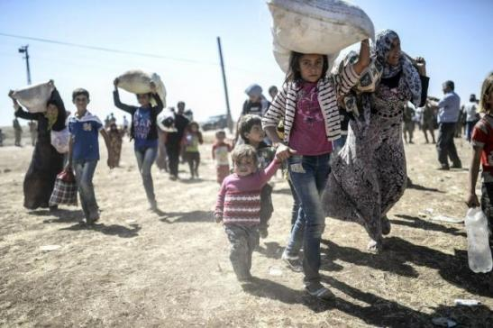 SIRIA – Migliaia di famiglie cristiane in fuga da Hassakè.