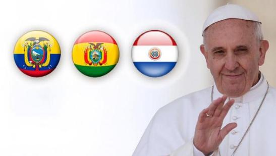 Il Papa in Ecuador, Bolivia e Paraguay.