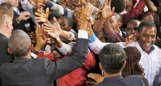 obama au Kenya