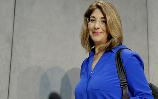 Pope Francis adds 'secular Jewish feminist' Naomi Klein to climate team.