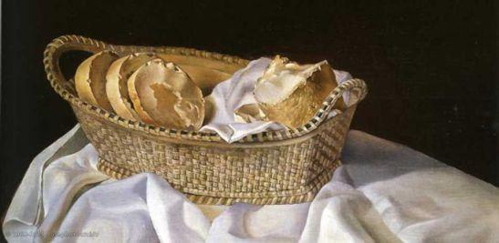 Salvador Dalì, Cesta di pane, 1926