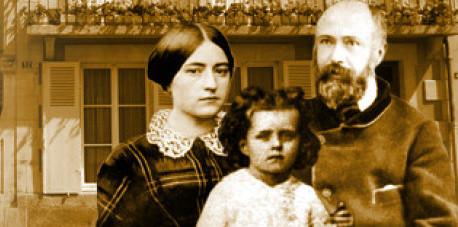 Two saints… a husband and a wife.