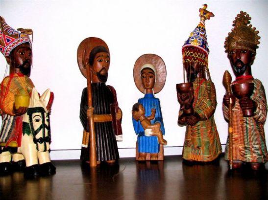 2. Una natività africana in Vaticano.