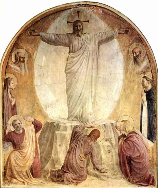 67. beato Angelico Trasfigurazione