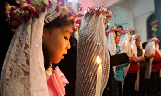Christian and Catholic in China