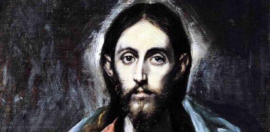 El Greco, Il Salvatore del mondo (particolare), 1600, Galleria nazionale di Scozia