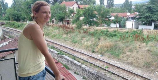 Lence Zdravkin è una casalinga di Veles