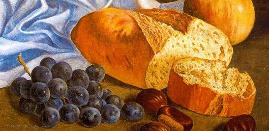 Salvador Dalì, Pane e uva, 1926, Monserrat