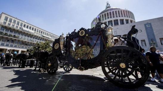 Vittorio Casamonica funerali
