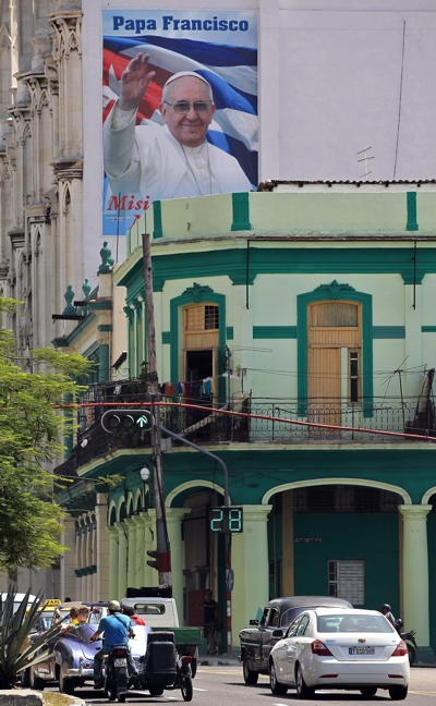 Cartaz em Havana, Cuba