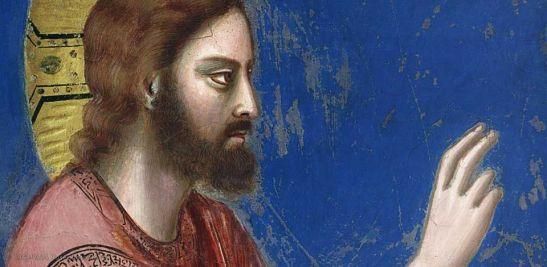 Giotto, Resurrezione di Lazzaro (particolare), 1304-06, Cappella degli Scrovegni, Padova
