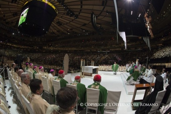 Holy Mass at the Madison Square Garden in New York3