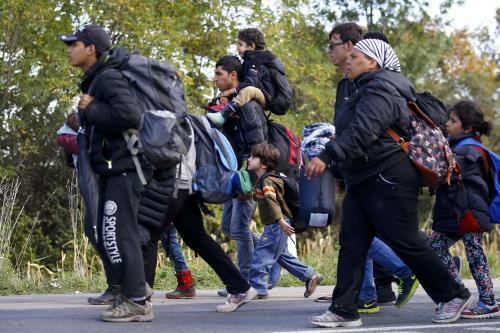 i migranti in Ungheria, smacco europeo