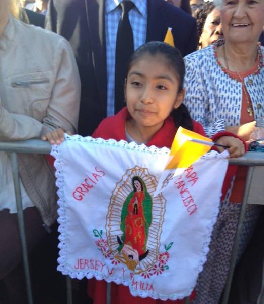 La niña «portavoz» de los inmigrantes hispanos en la Casa Blanca