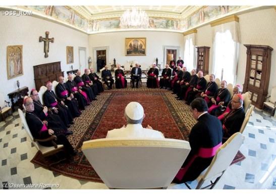 Papa aos Bispos portugueses
