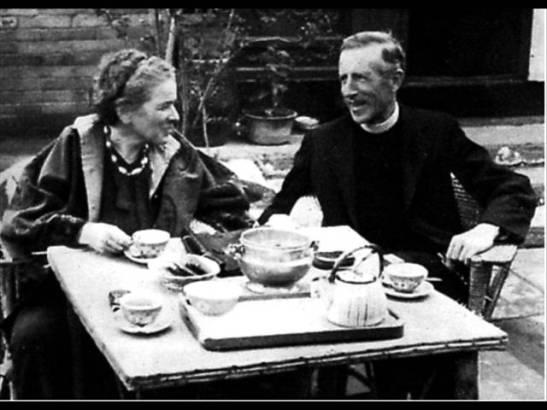 Teilhard e Lucille Swan