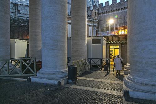 Apre il 'dormitorio del Papa' per i senzatetto