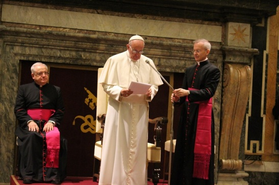 Discorso del Papa