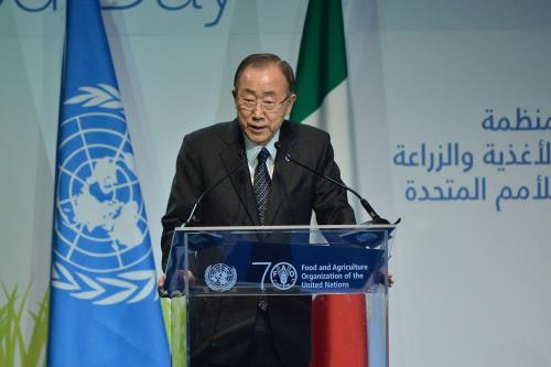 Expo, Ban Ki Moon riceve la carta di Milano