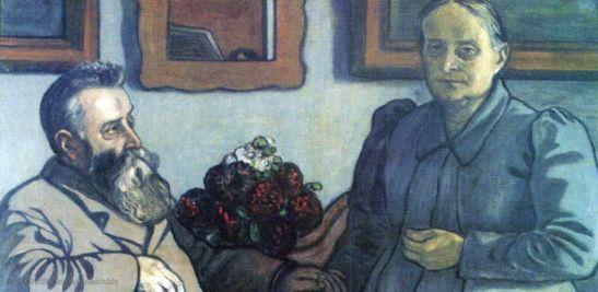 Jozsef Rippl-Ronai, I 40 anni di matrimonio dei miei genitori, 1897