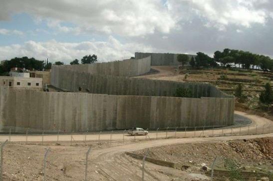 muro Gerusalemme sfigura Città Santa