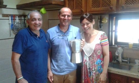 Paola e Maurizio Alesso (al centro)1