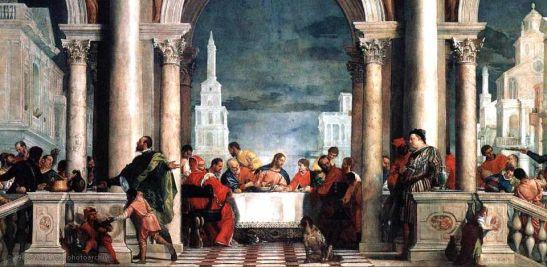 Paolo Veronese, Festa a casa di Levi, 1573, Gallerie dell'Accademia, Venezia