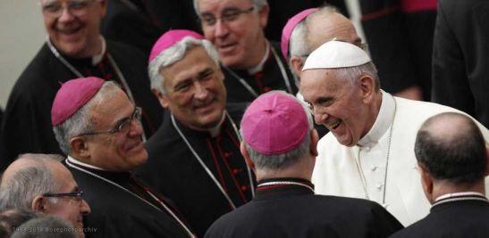 Papa Francesco al sinodo
