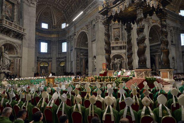 Papa inicia Sínodo: El sueño de Dios para su criatura predilecta ...