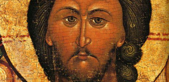 A. Rublev, Volto di Cristo
