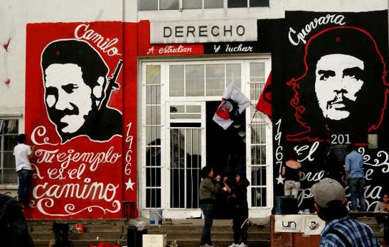 Camilo Torres y Che Guebara