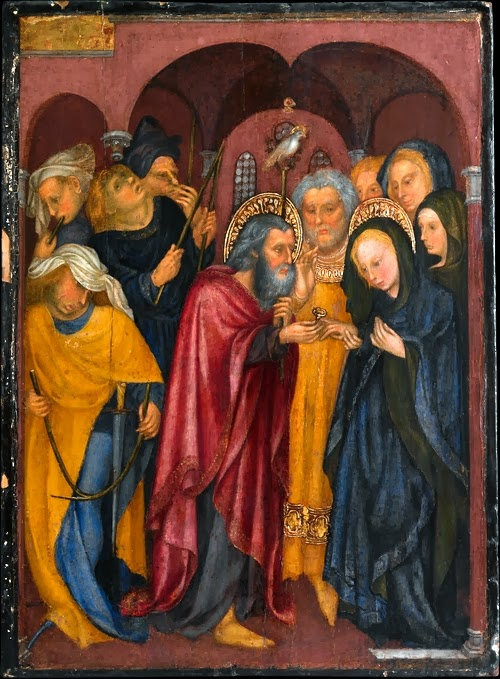 07 Michelino da Besozzo, Sposalizio della Vergine, 1435 circa