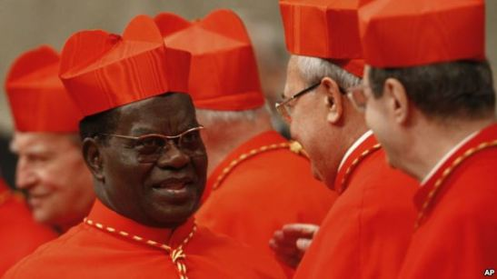 Mgr Laurent Monsengwo, archevêque de Kinshasa