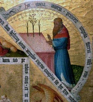 07 Trittico della Vergine dell'Unicorno, realizzato nel 1425 da un anonimo Maestro di Colonia
