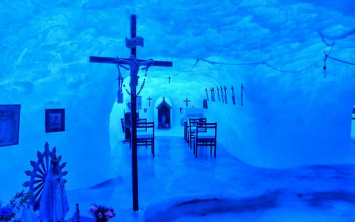 Antarctica's Catholic Ice Chapel 1