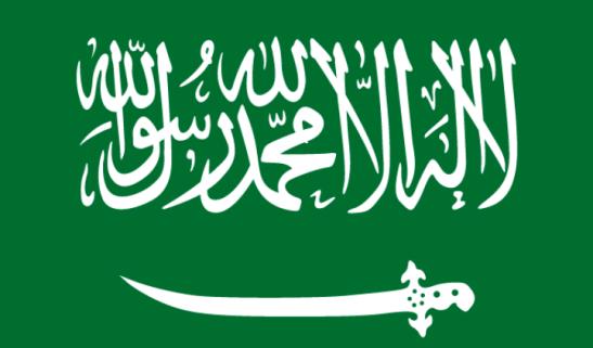Bandiera dell'Arabia Saudita